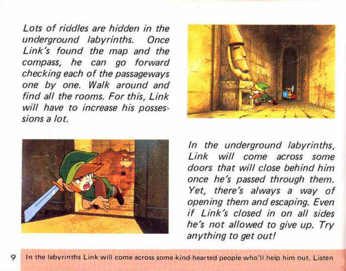 instruction manual manual only for the legend of zelda twilight princess nintendo wii