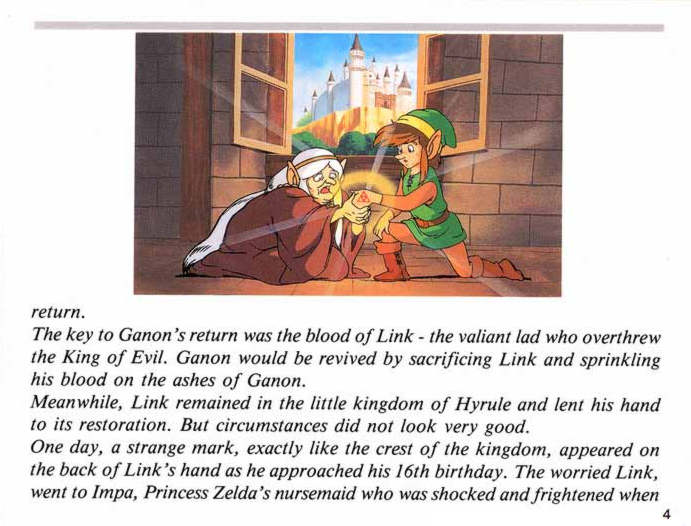 Kasuto Zelda Ii The Adventure Of Link